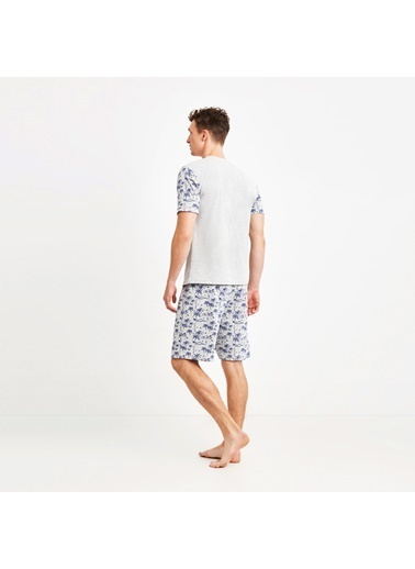 Nautica M102SORTTK.GRI Nautıca Erkek Gri Pijama Takımı Gri